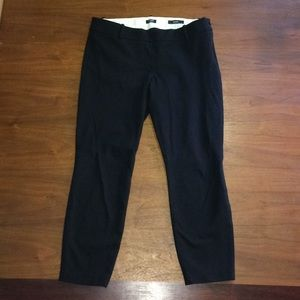 J Crew Minnie Side Zip Dress Suit Pants